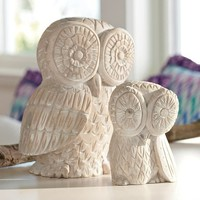 Wise Old Owl Decor