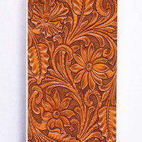 Carved Wood for Iphone 5 / 5s Hard Cover Plastic