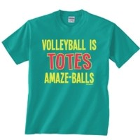 VOLLEYBALL > SHIRTS > Image Sportswear-Totes Volleyball Tee
