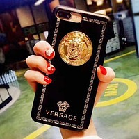 """Versace"" Classic Popular Women Men Personality Hard Mobile Phone Cover Case For iphone 6 6s 6plus 6s-plus 7 7plus iPhone8 iPhone X"