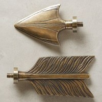 Bow & Arrow Finials by Anthropologie