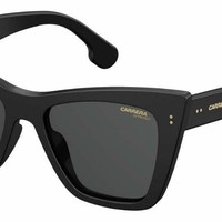 Carrera - 1009 S Black Sunglasses / Gray Blue Lenses