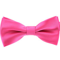 Tok Tok Designs Baby Bow Tie for 14 Months or Up (BK7, Pink)