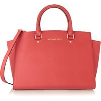 MICHAEL Michael Kors - Selma large textured-leather tote