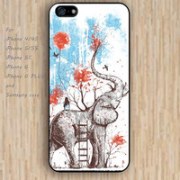 iPhone 5s 6 case elephant case cartoon heart dream catcher colorful phone case iphone case,ipod case,samsung galaxy case available plastic rubber case waterproof B618