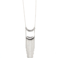 Clear Waters Fringe Pendant