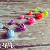 Belly Ring Set - Neon from Ever