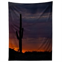 Barbara Sherman Saguaro Sunset Tapestry