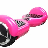 Pink 2 Wheel Electric Hoverboard