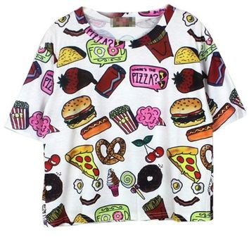 Cute Food Collection Tee