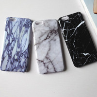 Marble Stone iPhone 7 7 Plus & iPhone 6 6s Plus & iPhone 5s se Case Personal Tailor Cover + Gift Box-484
