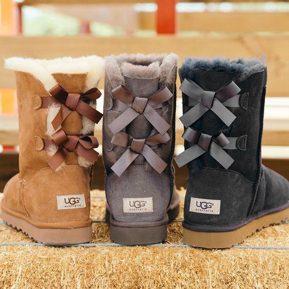 Image of UGG Men Women Trending Fashion Wool Snow Boots Shoes