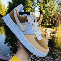 Nike Air Force 1 Men's and Women's Casual Sneakers Shoes