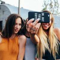 BUT FIRST COFFEE IPHONE 6 CASE