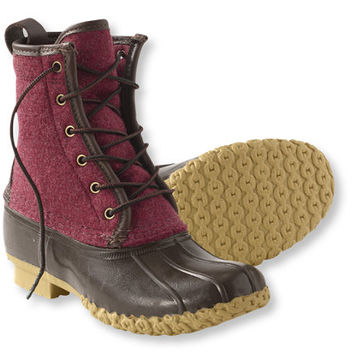 Women's Bean Boot by L.L.Bean and reg;, 8 and quot; Felt: Women's   Free Shipping at L.L.Bean