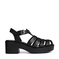New Look Jilly Caged Heeled Sandals