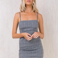 Motel Charles Check Cecile Dress