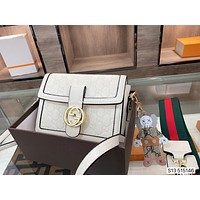 Gucci2021  Women's Leather Shoulder Bag Satchel Tote Bags Crossbody20*15*5cm 0505cx