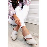 Mystery Girl Cut Out Mule (Grey)