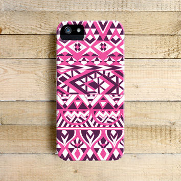 Hot Pink Tribal - iPhone 5/5c case, iPhone 4/4s case, Samsung Galaxy S3/S4