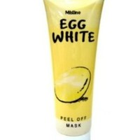 Mistine Egg White Peel Off Mask Whitening Poreless & Anti-blackhead Face 85 G.