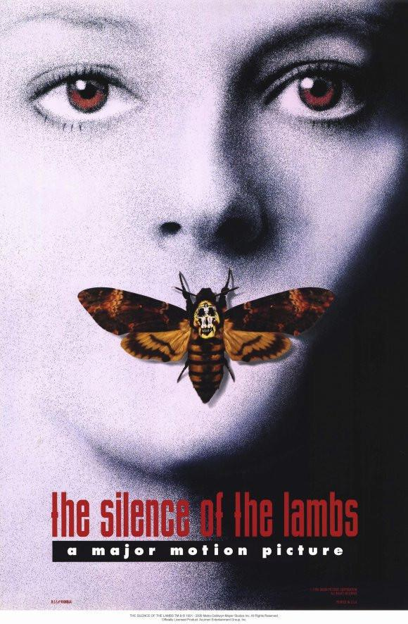 Image of Silence of the Lambs 11x17 Movie Poster (1991)