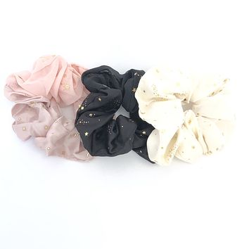 Give You The Stars & The Moon Hair Scrunchies Set