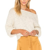 Tejido Dolman Sweater in Oatmeal | REVOLVE