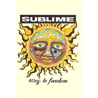 """Poster: Sublime 40oz to Freedom Sun (24""""x36"""")"""