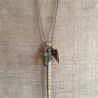 Dagger & Arrow Necklace