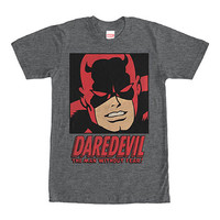 Daredevil Man Without Fear Gray T-Shirt