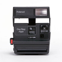 Impossible Polaroid Black Flash 600 Camera Black One Size For Men 24317510001