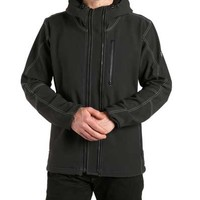 Kuhl Retro Full Zip Jacket with Hood for Men in Carbon 1036