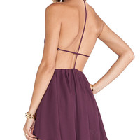 NBD Get Out Dress in Wine