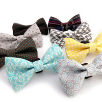 BOW TIE Upgrade: Removeable Bowtie for Dog Collar