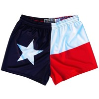Texas Flag Womens & Girls Sport Shorts by Mile End