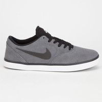 Nike Sb Check Mens Shoes Charcoal  In Sizes