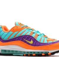 NIKE Men's Air Max 98 QS, Cone/Tour Yellow-Hyper Grape