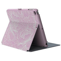 Speck Products StyleFolio Case for iPad Air/Air 2,FreshFloral Pink/Nickel Grey
