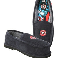 Marvel Captain America Corduroy Slippers
