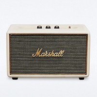 Marshall Acton Speaker in Cream - Urban Outfitters