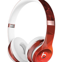 Red Orange Geometric V13 Full-Body Skin Kit for the Beats by Dre Solo 3 Wireless Headphones