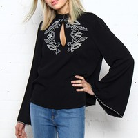 MINKPINK Valley Of The Vine Blouse