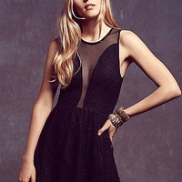 For Love & Lemons Womens Lulu Lace Fit and Flare