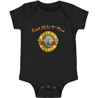 Guns N Roses Boys' Sweet Child O Mine Bodysuit Black