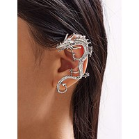 1pc Dragon Shaped Ear Cuff