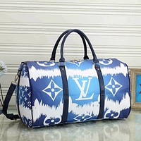LV Louis Vuitton Luggage Bag Travel Bag Fashion Big Bag Print Tote Handbag