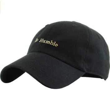 BE Humble Fashion Dad Hat Baseball Cap Unconstructed Polo Style Adjustable
