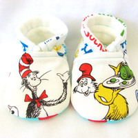 Little Piggies Baby Shoes- Choose your Own Character, Inspired by Dr. Suess, Baby Shoes- Gender Neutral Baby Shoes