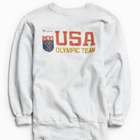 Vintage Champion Olympic Team Crew Neck Sweatshirt - Urban Outfitters